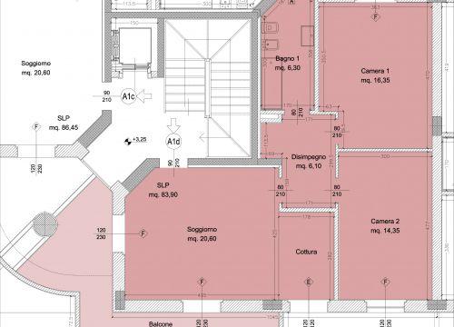 Borgo dell 39 ambrogiana generali costruzioni erta srl for Camera da letto 30 mq