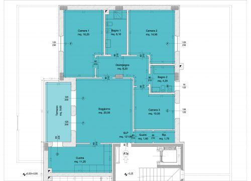 Costruzione e vendita di immobili per uso commerciale e for 6 piani di casa con 4 bagni
