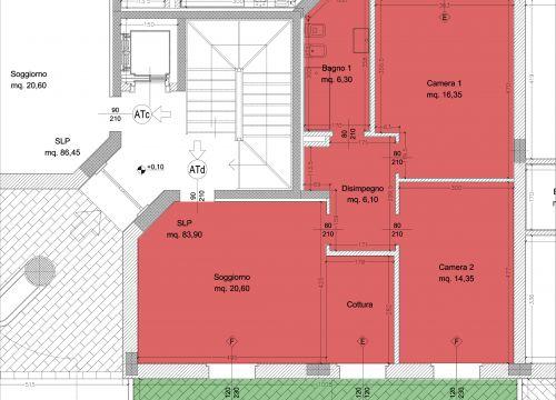 Borgo dell 39 ambrogiana generali costruzioni erta srl for Piano terra con 3 camere da letto con garage