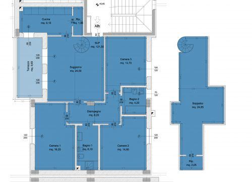 Borgo dell 39 ambrogiana generali costruzioni erta srl for Piani di appartamento garage due camere da letto