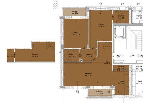 Borgo dell 39 ambrogiana generali costruzioni erta srl for Disegno di piano piano di 2 camere da letto